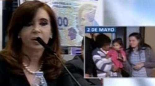 Total habla cada ganso por microfono, la respuesta de Cristina
