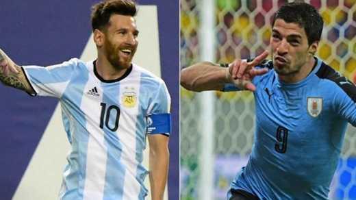 Argentina vs. Uruguay en vivo hoy por Eliminatorias Rusia 2018