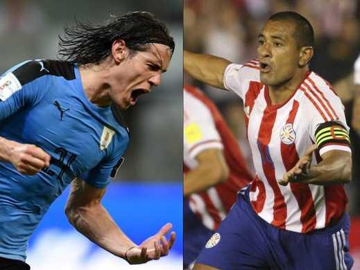 Uruguay vs Paraguay eliminatorias Rusia 2018 ver directo online